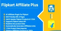 Flipkart affiliate plus affiliate plugin management product