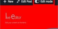 Editor live