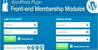End front membership modules