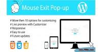 Exit mouse popup