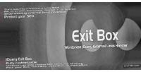 Exit wordpress box