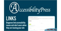 External accessibilitypress links