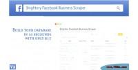 Facebook brightery business wordpress for scraper