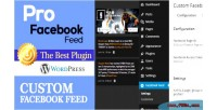 Facebook pro wp responsive feed