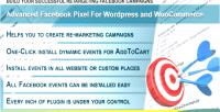 Facebook wordpress pixel for plugin woocommerce & wordpress