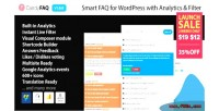 Faq candy smart wordpress with faq analytics search instant and