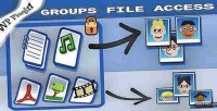 File groups plugin wordpress access
