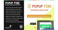 Fire popup custom wordpress for popups