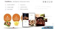 Foodmenu wp creative restaurant pack showcase menu