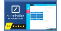 Formeditor wordpress pro