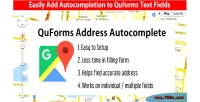 Address quforms autocomplete