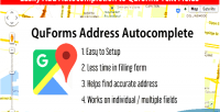 Address quforms autocomplete