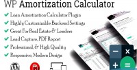 Amortization wp calculator