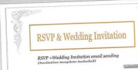 And rsvp wedding invitation