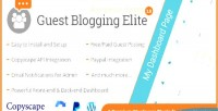 Blogging guest elite