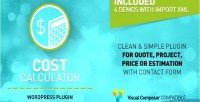 Calculator cost wordpress plugin