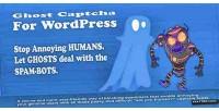 Captcha ghost for wordpress