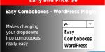 Comboboxes easy wordpress plugin