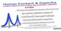 Contact human & wordpress for captcha