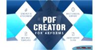 Creator pdf for arforms