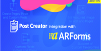 Creator post for arforms