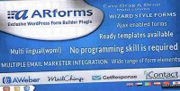 Exclusive arforms wordpress plugin builder form