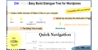 Fast diatree tree generator form and
