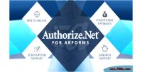 For authorize.net arforms