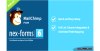 For mailchimp nex forms