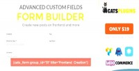 Form acf builder submission multipurpose form frontend