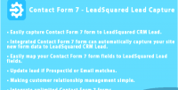 Form contact 7 capture leadsquared lead crm