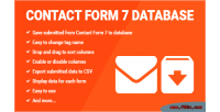 Form contact 7 database