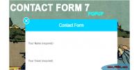 Form contact 7 popup