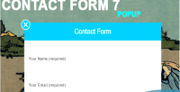 Form contact 7 popup