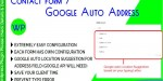 Form contact 7 suggestion google address auto