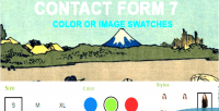 Form contact 7 swatches color image or