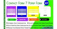 Form contact form popup 7
