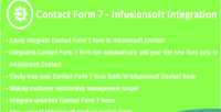 Form contact integration infusionsoft 7