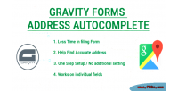Forms gravity address autocomplete