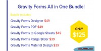 Forms gravity all bundle one in