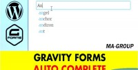 Forms gravity autocomplete