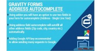 Forms gravity autocomplete google address