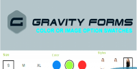 Forms gravity color swatches, option image