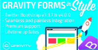 Forms gravity in bootstrap twitter style