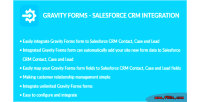 Forms gravity integration crm salesforce