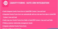 Forms gravity integration crm suite