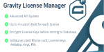 Forms gravity license manager