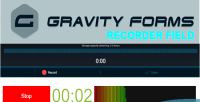 Forms gravity recorder field