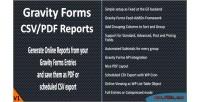 Forms gravity reports pdf csv