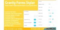 Forms gravity styler